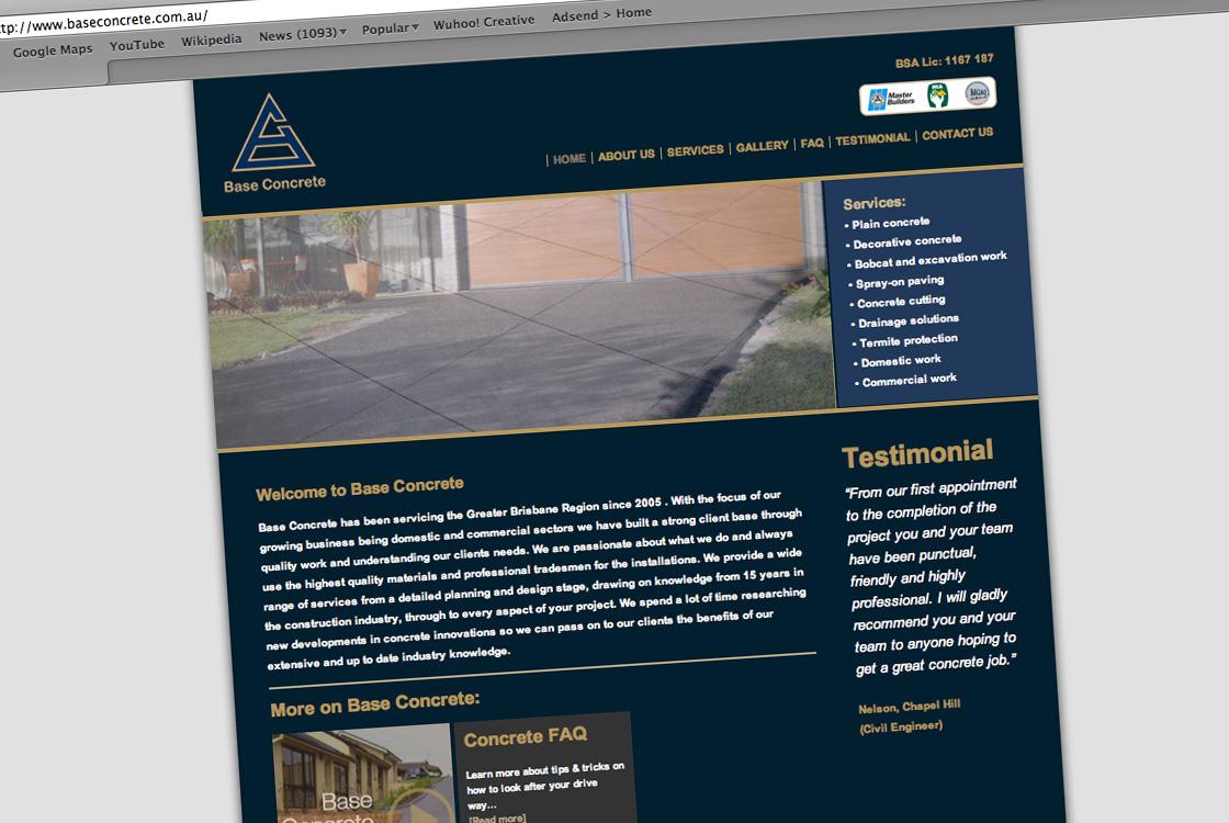 Base Concrete