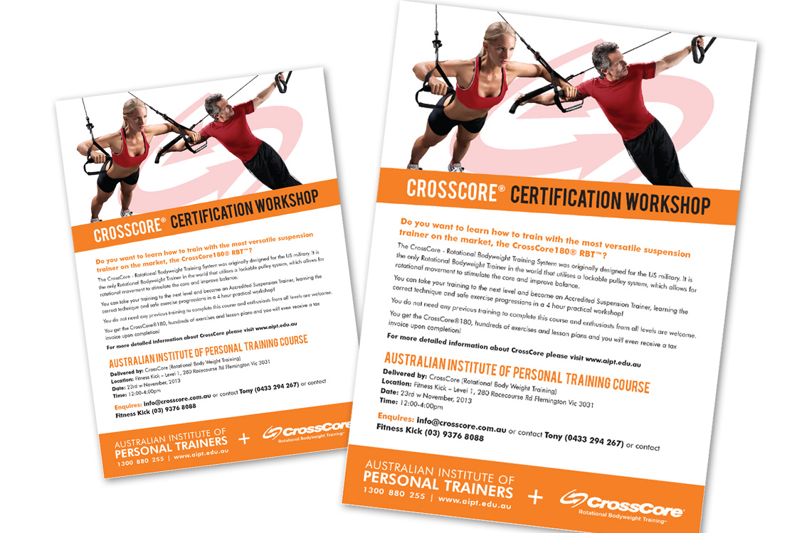 Australian Institute of Personal Trainers posters – Wuhoo ...
