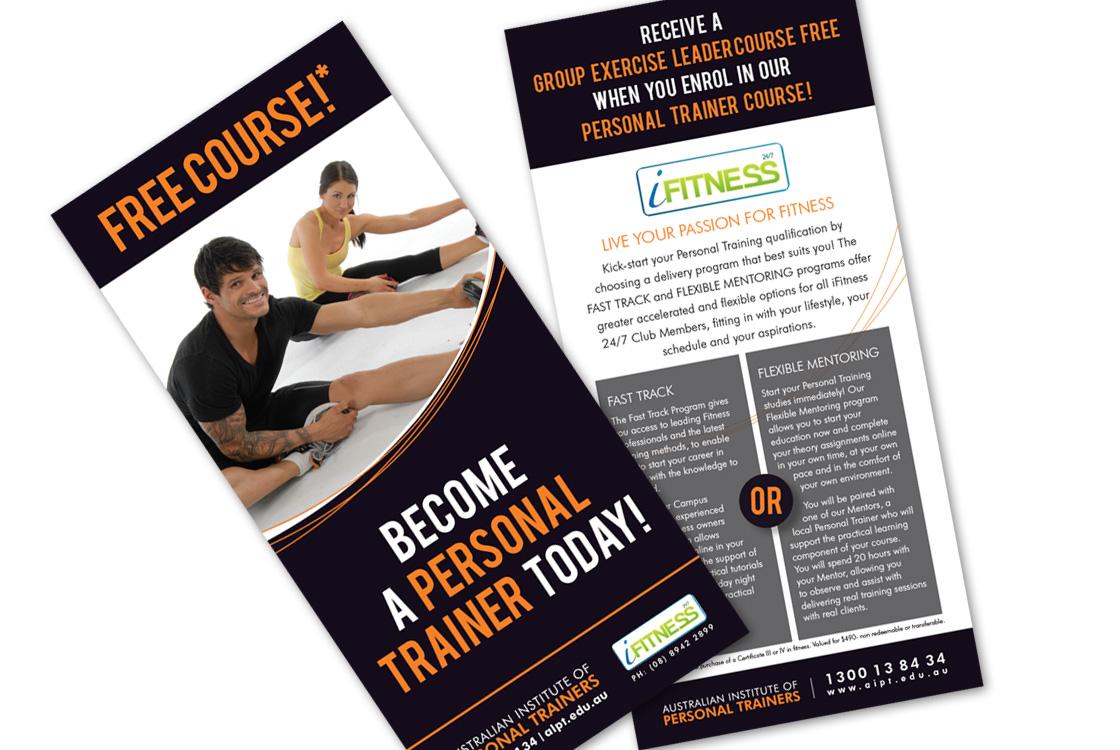 australian institute of personal trainers posters wuhoo creative